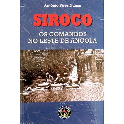 Siroco - Os Comandos no Leste de Angola - Associação de Comandos b71bad4413c